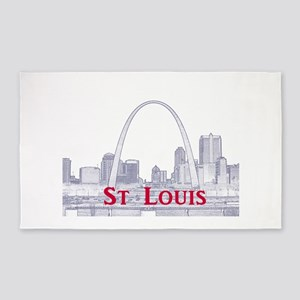 St. Louis 3'x5' Area Rug